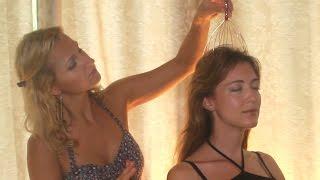 getlinkyoutube.com-HAIR SOUNDS: Binaural ASMR HAIR brushing & HEAD massager with for relaxation