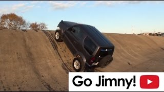 getlinkyoutube.com-斜度45度をジムニーで登れるか!?