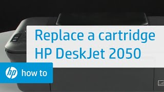 getlinkyoutube.com-Replacing a Cartridge - HP Deskjet 2050 All-in-One Printer