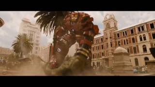 Avengers 2   Age Of Ultron Hindi   Hulk Vs Iron Man  Fight SCENE Full HD