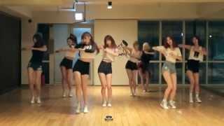 getlinkyoutube.com-9MUSES 'Hurt Locker' mirrored Dance Practice