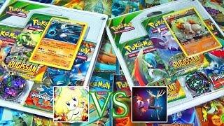 getlinkyoutube.com-Ouverture de 6 Tripacks Pokémon Ciel Rugissant - David Lafarge VS MissJirachi, Combat de CHOC !