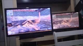 "getlinkyoutube.com-Monitor BenQ vs TV LED Samsung 40"""