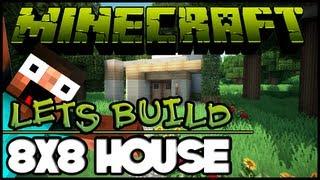 getlinkyoutube.com-Minecraft Lets Build HD: House 8x8 Lot