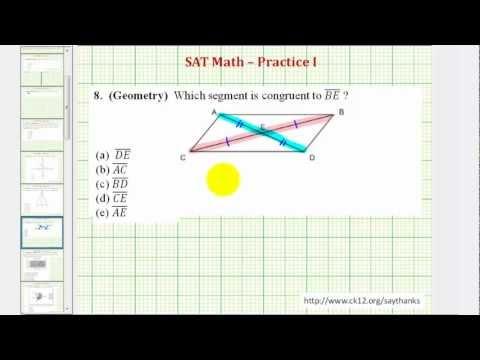 SAT Math (Geometry) - Practice 1.8