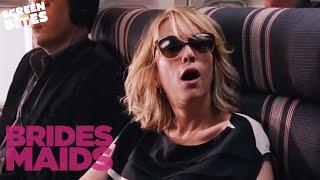 Bridesmaids: Hilarious air-plane scene (ft Kristen Wiig, Maya Rudolph and Rose Byrne) width=