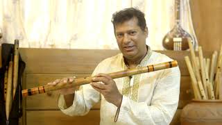 Lesson 4:  How to Play Flute/Bansuri with Tanpura and balance the note  'Pa'
