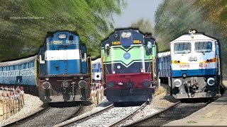 getlinkyoutube.com-Single Line Trains : Indian Railways (Bangalore - Arsikere)