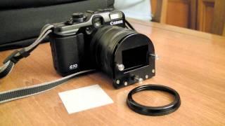 getlinkyoutube.com-DIY Convert 35mm Slide To Digital, With CANON G10