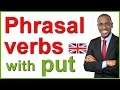 PHRASAL VERBS in English  Examples with put