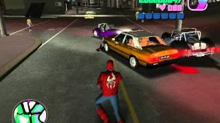 getlinkyoutube.com-Gta Vice city SPIDERMAN mod and + Link !