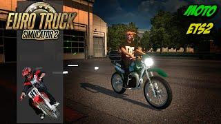 getlinkyoutube.com-Motos no Euro Truck Simulator 2 - Dt180 e Mt 09