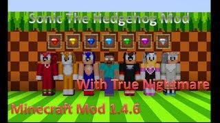 getlinkyoutube.com-Minecraft Mod: Sonic The Hedgehog Mod