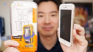 getlinkyoutube.com-これで全面を保護!だが、、、 ULTRA HYBRID FX iPhone6 / 6 Plus Spigen