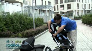 getlinkyoutube.com-Mutsy 4 Rider video-test wózka