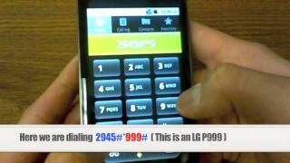 getlinkyoutube.com-Unlock LG | How to Unlock any LG Phone by Unlock Code Instructions, Tutorial + Guide