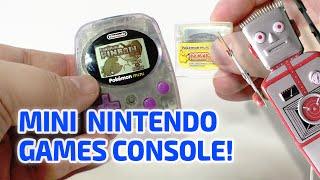 getlinkyoutube.com-MINI NINTENDO HANDHELD CONSOLE - Pokemon Mini Working Miniature