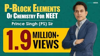 P-Block Elements Video Lectures of Chemistry for NEET by Prince (PS) Sir
