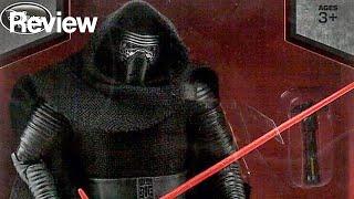 "getlinkyoutube.com-Star Wars Elite Series Kylo Ren Premium Figure 11"" Review"