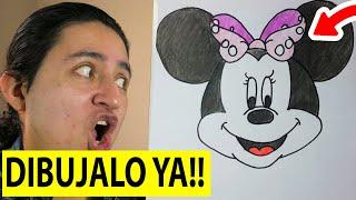 getlinkyoutube.com-Como Dibujar a Minnie Mouse paso a paso [El Dibujante]