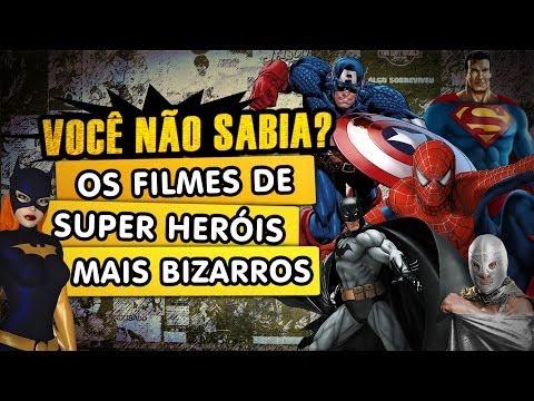 Os Filmes de Super Herois mais Bizarros da História