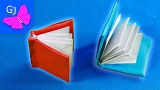 Оригами книжка из бумаги