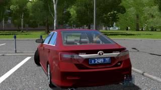 getlinkyoutube.com-City Car Driving 1.5.2 Toyota Camry V50 With Custom Sound(+DOWNLOAD LINK)