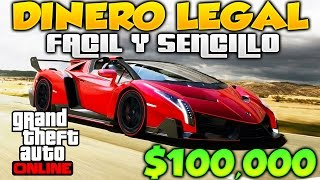 getlinkyoutube.com-GTA 5 ONLINE COMO CONSEGUIR $100,000 FACIL Y SENCILLO, FORMAS LEGALES DE CONSEGUIR DINERO GTA V