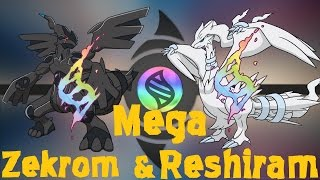getlinkyoutube.com-Mega Zekrom and Reshiram | Pokemon Omega Ruby and Alpha sapphire (Fan Art)