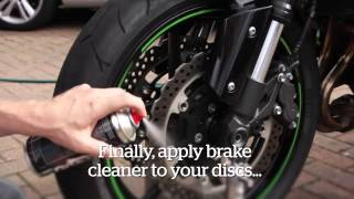 getlinkyoutube.com-Protect your bike after washing | How to | Motorcyclenews.com