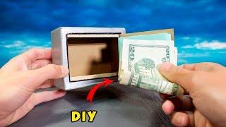 getlinkyoutube.com-DIY Electronic Safe -  How to Make a Mini Safe