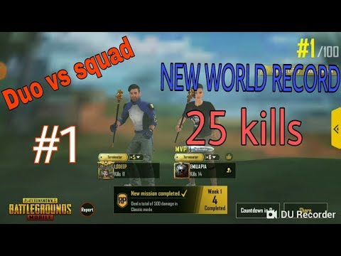 Download Thumbnail For New Record 25 Kills Duo Vs Squad Best Duo