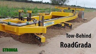 getlinkyoutube.com-Stronga Road Grader SRG2400 attachment