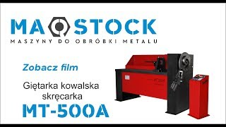 getlinkyoutube.com-Skręcarka MT 500 Maszyna do produkcji ogrodzeń