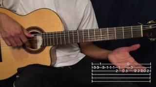 getlinkyoutube.com-Chan Chan - Buena Vista Social Club Tutorial Guitarra