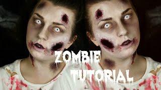 getlinkyoutube.com-Zombie Halloween Tutorial