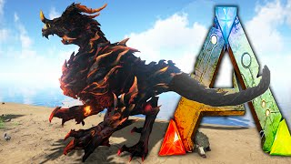 getlinkyoutube.com-Ark Survival Evolved - DRAGON GOD ! Sacrificial Alter, Pet DodoRex - Ark Dragon Taming Gameplay