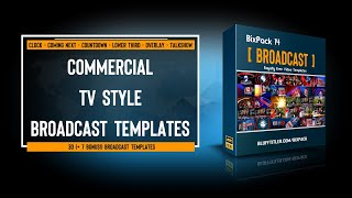 BixPack 14 - Intro video templates - Broadcast