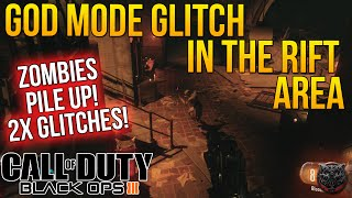 "getlinkyoutube.com-Call of Duty Black Ops 3 Zombies Glitches Shadow of Evil Rift! ""2x GOD MODE GLITCH & PILE UP GLITCH"""