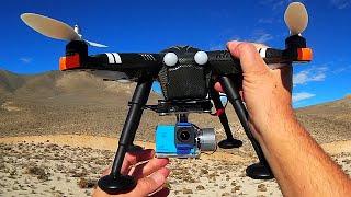 getlinkyoutube.com-SJCAM SJ4000 Plus WiFi XK Detect X380 Drone Flight