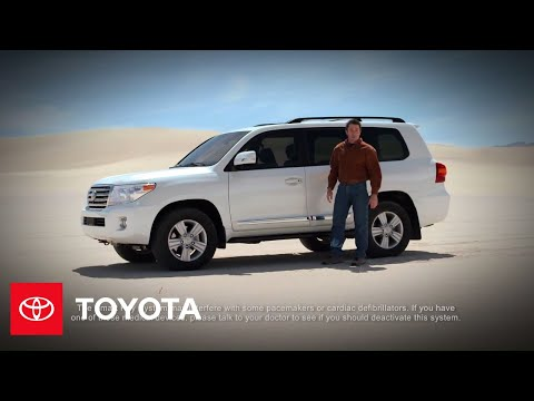 2013 Land Cruiser How-To: Smart Key System | Toyota