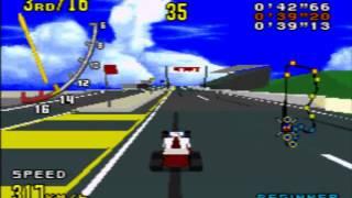 getlinkyoutube.com-Genesis Virtua Racing メガドライブ バーチャレーシング