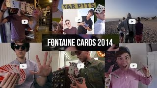 getlinkyoutube.com-✯ Fontaine Cards 2014 ✯ | Cardistry |