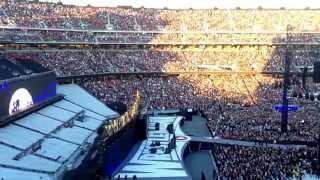 Undertakers entrance WrestleMania 31  reaction!!