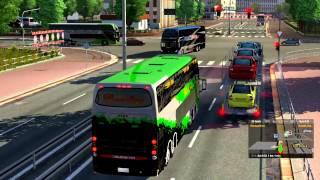 getlinkyoutube.com-Euro Truck Simulator 2 Bus trip to Cordoba with Busscar Panoramico DD 8x2 Final