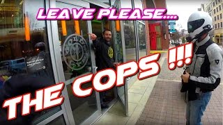 getlinkyoutube.com-ZX6R VS ZERO FXS | The Police will give you a Big Fine