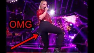 Shakira Sexy - Ass Shake (slowmotion) @The Voice 2017
