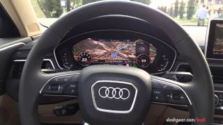 getlinkyoutube.com-2017 Audi A4 first drive extensive video