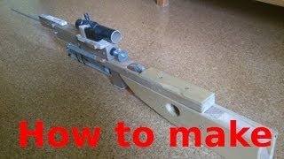 getlinkyoutube.com-HOW TO BUILD: The airsoft sniper rifle (part 1)