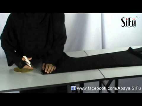 Teknik Menggunting Abaya Sifu 1